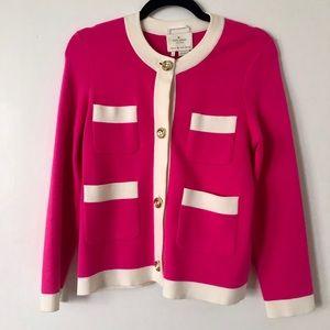 Kate Spade hot pink cardigan